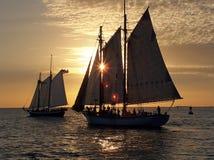 Sunset Cruise Royalty Free Stock Image