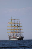 Sailing ships (worldwide parade) Stock Photography