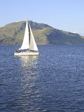 Sailing on the Sound of Mull, Scotalnd, UK. Royalty Free Stock Image