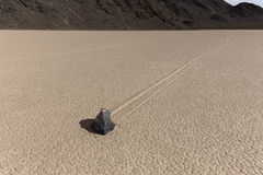 Sailing Stone of Death Valley National Park Stock Photos