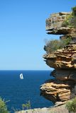 Coastal Cliffs of Sydney Royalty Free Stock Images