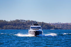 Sailing on Sydney Harbour Royalty Free Stock Photography