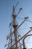 Sailing tackles. Sailing tackles of an old sailing ship royalty free stock images