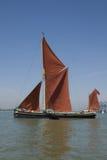 sailing thames баржи стоковое фото