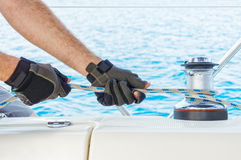 Sailing time Royalty Free Stock Images