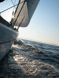 Sailing to Elba Stock Image