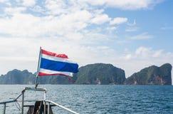 Sailing to Phi Phi island Stock Photos