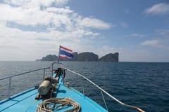 Sailing to Phi Phi island Royalty Free Stock Photo
