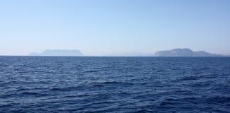 Sailing To Sardinia Island Stock Image
