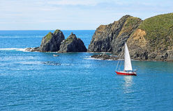 Sailing Tory Channel Royalty Free Stock Image
