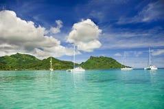 Sailing in the tropics Stock Photos