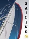 Sailing vector Stock Photo