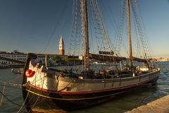 Sailing in Venice Royalty Free Stock Photos