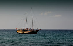Sailing vessel Royalty Free Stock Photo