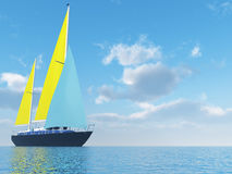 Sailing vessel Royalty Free Stock Image