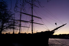Sailing vessel Royalty Free Stock Images