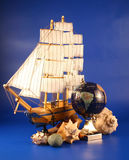 Sailing vessel Royalty Free Stock Image