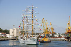 Sailing vessel of Mexico CUAUHTEMOС Royalty Free Stock Photography