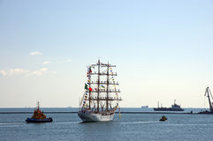 Sailing vessel of Mexico CUAUHTEMOС Stock Photos