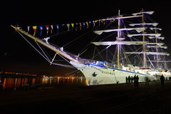 Sailing vessel Nadezhda Royalty Free Stock Photography