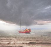 Sailing vessel. Stock Photography