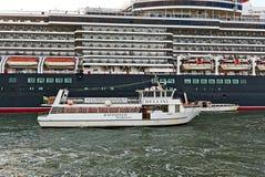 Sailing white boat Bellini Raffaelo Navigazione VE8862 in Italy Stock Images