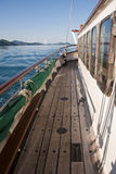 Sailing the Whitsundays, Queensland. Wonderful view from the Ship during a Islands Cruise Stock Images