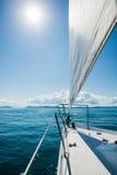 Sailing the Whitsundays. Queensland, Australia Stock Photos