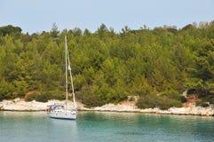 Free Sailing Yacht Royalty Free Stock Photo - 10220135