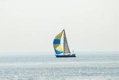 Sailing yacht Stock Image