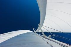 Sailing yacht catamaran sailing in the sea. Sailboat. Sailing. Royalty Free Stock Photography