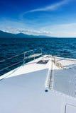 Sailing yacht catamaran sailing in the sea. Sailboat. Sailing. Royalty Free Stock Photo