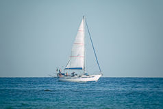 Sailing yacht Stock Photo