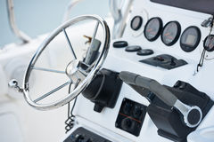 Sailing yacht navigation implement Stock Image