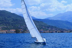 The sailing yacht Royalty Free Stock Photography