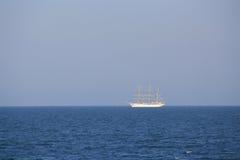 Sailing yacht at sea Stock Image