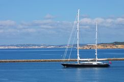 Sailing yacht Stock Photos