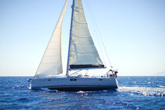 Sailing yacht Royalty Free Stock Photography