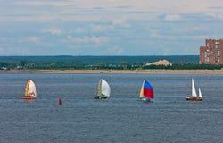 Sailing yachts Stock Photography