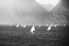 Sailing yachts Stock Photography