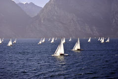 Sailing yachts Royalty Free Stock Photo