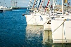 Sailing yachts Royalty Free Stock Photos