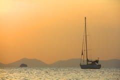 Sailing yaht Royalty Free Stock Images