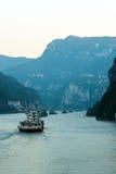 Sailing on the yangtze river Royalty Free Stock Image
