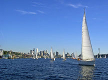 Sailing at You royalty free stock photography