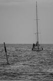 Sailingboat Fotografia Stock Libera da Diritti