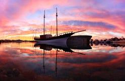 Sailingship  Stock Afbeeldingen
