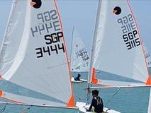 Sailling Fotografie Stock