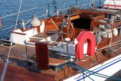 Sailling Yacht Stockfotografie