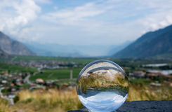 Saillon, Valais, Switzerland Royalty Free Stock Images